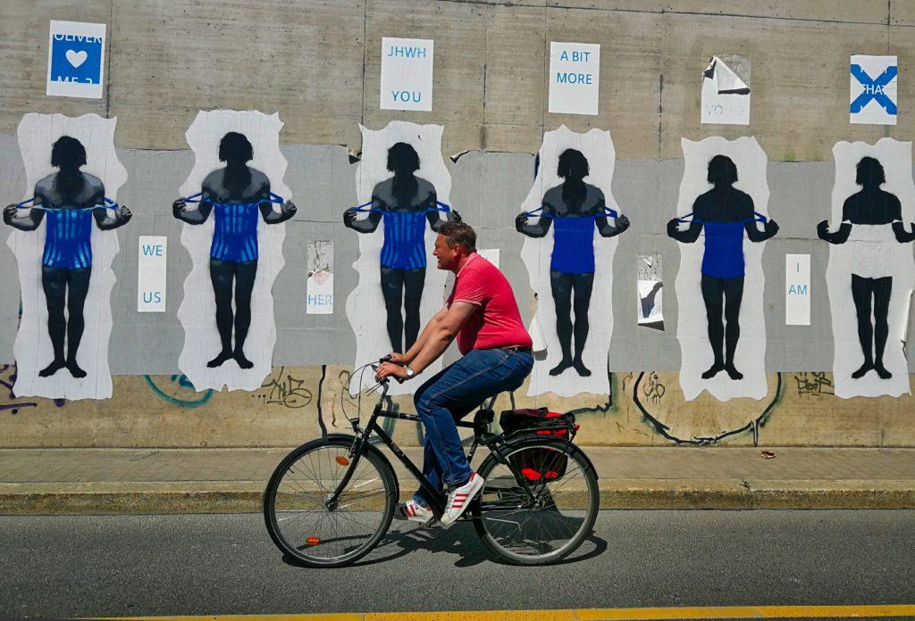 Menschen der Straße
