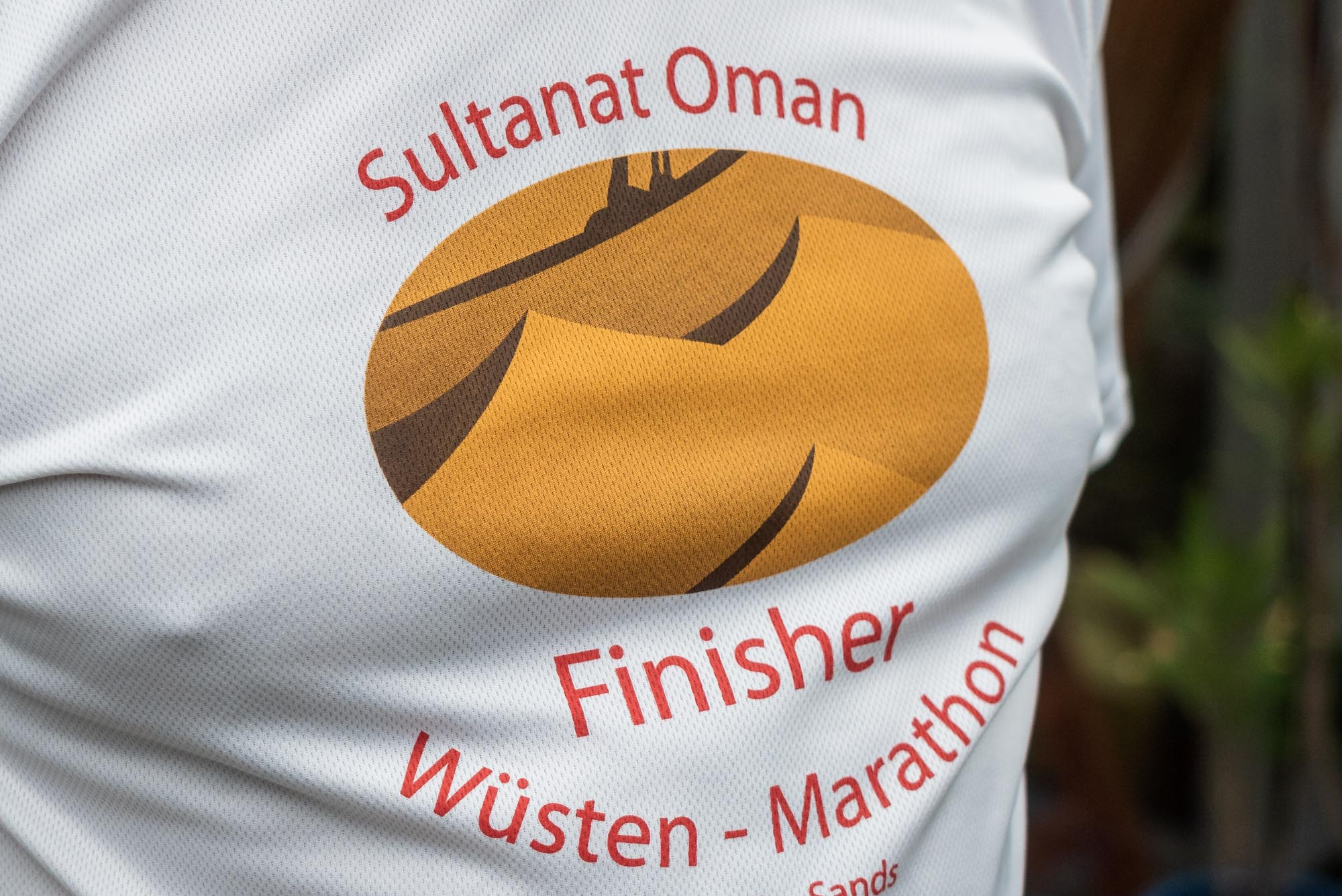 Finisher t-Shirt Oman