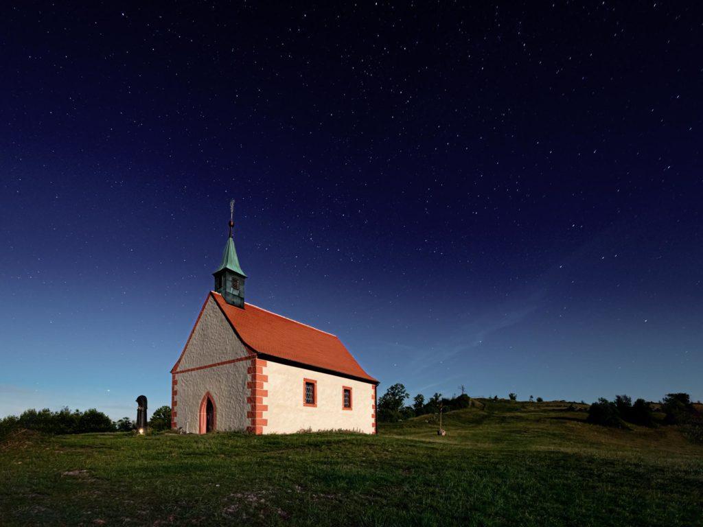 Walberla bei Nacht