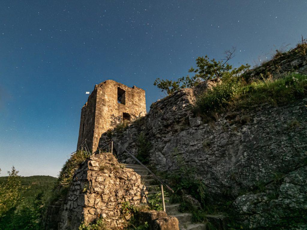Burgruine Neideck in Streitberg